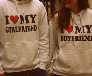 love, boyfriend, and girlfriend image