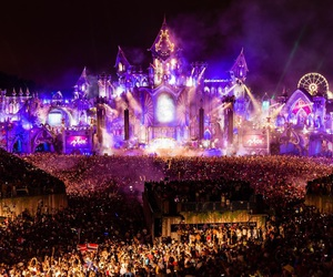 tomorrowland, music, and party image