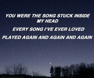 song, quote, and fall out boy image