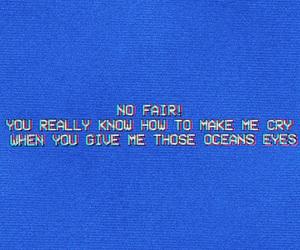 blue, billie eilish, and cry image