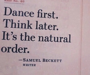 be, dance, and do image