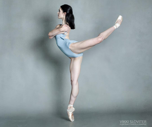 ballet, dancer, and pointe image