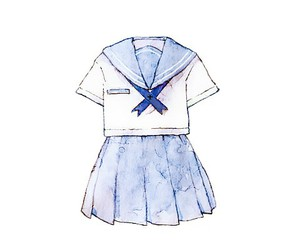 blue, illustration, and japanese image