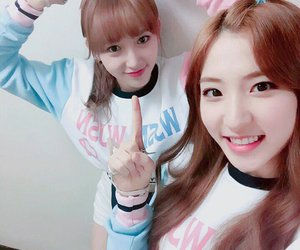eunseo, wjsn, and cosmic girls image