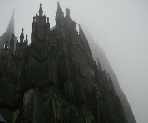 architecture, castle, and black image