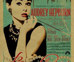 audrey hepburn, vintage, and Breakfast at Tiffany's image