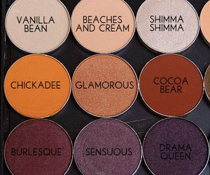 cosmetics, beauty, and eyeshadow image