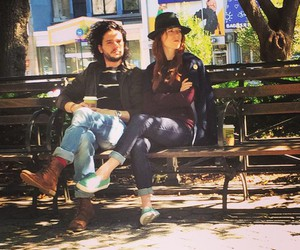 game of thrones, rose leslie, and kit harington image