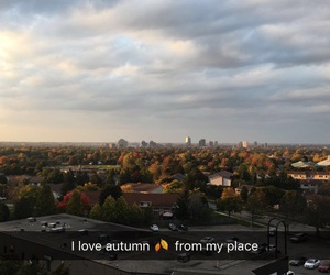 autumn, snapchat, and colurful image