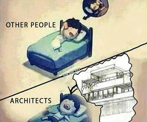 architecture, draw, and funny image