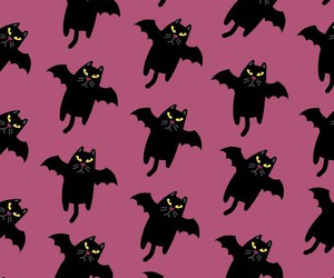 Halloween, pattern, and wallpaper image