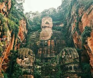 travel, Buddha, and china image
