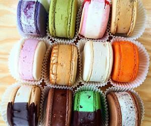 food, ice cream, and sweet image