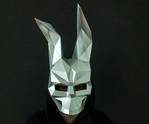 animal mask, etsy, and halloween costume image