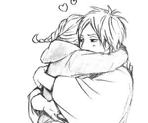 couple and manga image