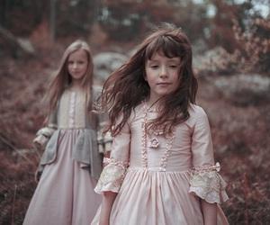 children, dress, and girl image