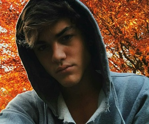 boy, fall, and ethan image