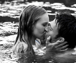 love, the longest ride, and kiss image