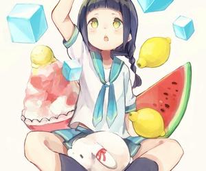 anime, art, and ice image