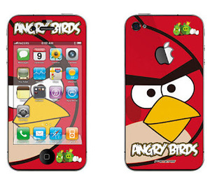iphone, mobile, and angry birds image