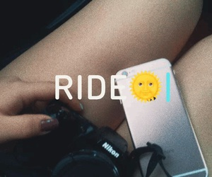 chill, ride, and chilling image