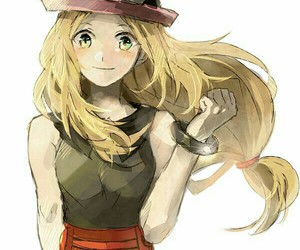 anime girl, fan art, and serena image