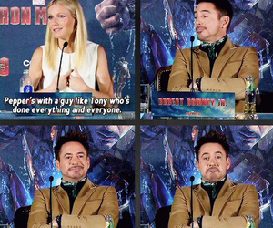 funny, iron man, and lol image