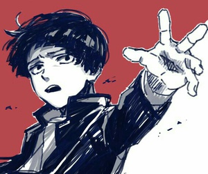 anime, boy, and mob psycho 100 image