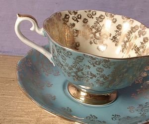 aesthetic, porcelain, and blue image