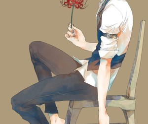 anime, ghoul, and rose image