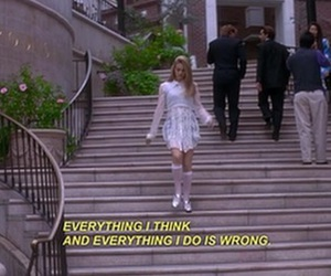 Clueless, quotes, and grunge image