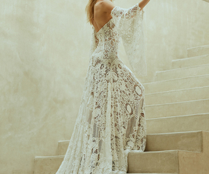 beautiful, boheme, and dress image