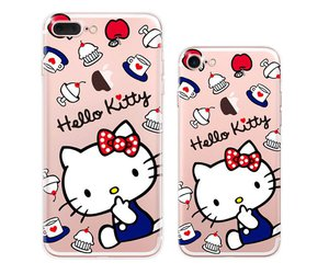 cover, girl, and hello kitty image