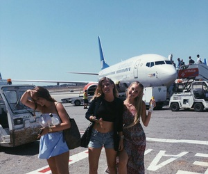 travel, summer, and best friends image