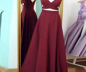 prom dress, prom dresses, and long prom dress image