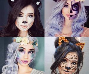 hair, Halloween, and wigs image