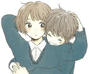 boy, couple, and school image