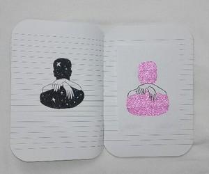 art, draw, and hug image