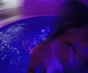 purple, grunge, and pool image