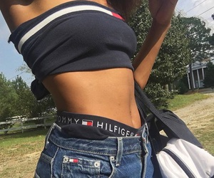 fashion, tommy hilfiger, and body image