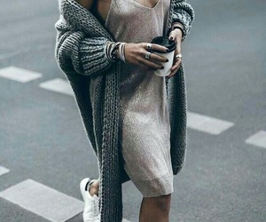 cozy, dress, and fashion image