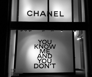 b&w and chanel image