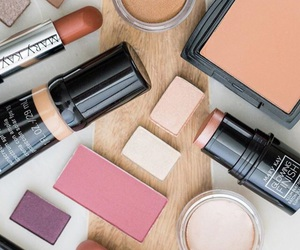 beauty, collection, and cosmetics image