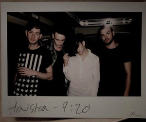 the 1975, band, and polaroid image