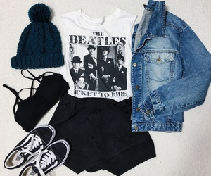 beatles, blogger, and fashionista image