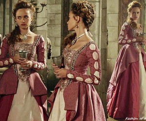 femme, medieval, and rose+ image