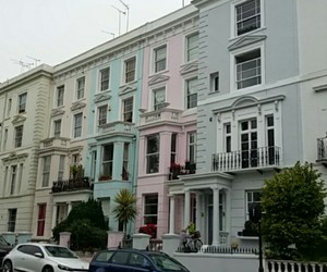 Houses, london, and Notting Hill image