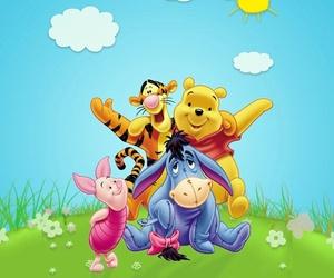 cartoon, Sunny, and pooh image