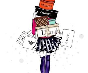 chanel, dior, and fashion image
