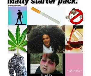 emo, weed, and 5sos image
